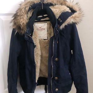 Hollister Navy Jacket